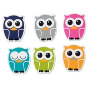 Owls Magnet Set