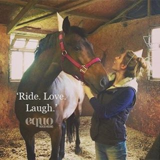 Ride. Love. Laugh.  #EquoEvents #FridayFunday