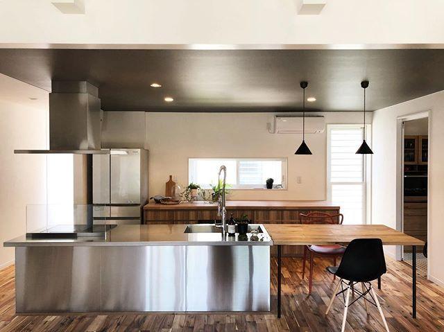 グラッド45 ステンレスキッチン システムキッチン リビング キッチン システムキッチン キッチンインテリアデザイン