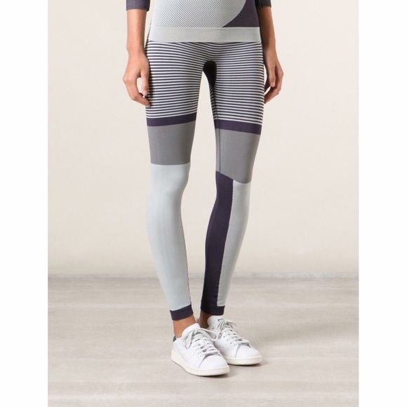 NEW Stella McCartney Adidas Leggings sold out everywhere! You won't blend in with the rest of the class in these Stella McCartney for Adidas leggings. I wish they had these in my size!  New without tag. Adidas by Stella McCartney Pants Leggings