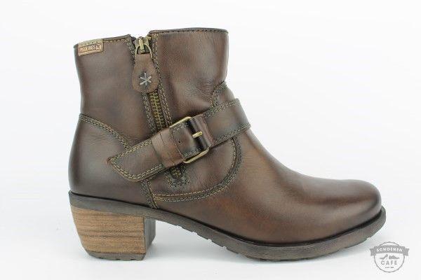 Bruine Boot - Pikolinos Dames Schoen - 838-7022 OLMO-DF | Het Schoenencafe