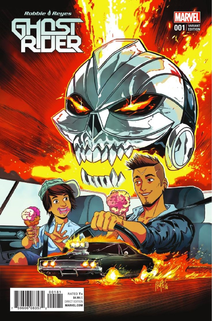 Preview: Ghost Rider #1, Story: Felipe Smith Art: Tradd Moore & Danillo Beyruth Cover: Marco Checchetto Publisher: Marvel Publication Date: November 30th, 2016 Price:...,  #All-Comic #All-ComicPreviews #Comics #DanilloBeyruth #FelipeSmith #GhostRider #Mar