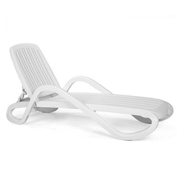 Eden Plastic Resin Chaise Lounge 31 Lbs Chaise Lounge Plastic
