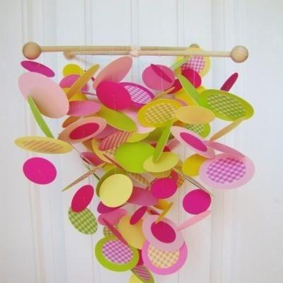 DIY Baby Paper Mobile {Tutorial}: Mobiles Tutorials, Baby Mobiles, Diy'S, Diy Mobiles, Diy Baby, Paper Mobile, Cribs Mobiles, Baby Nurseries, Baby Shower