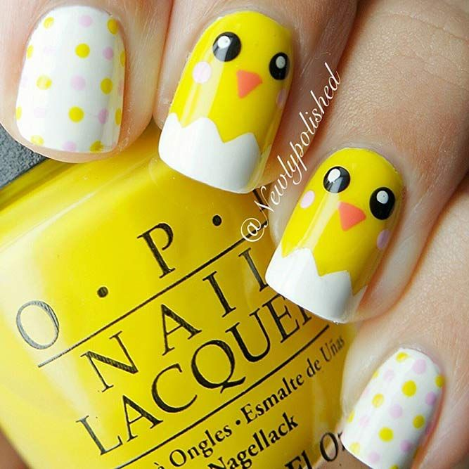 75 Amazing Designs Of Easter Nails For Your Inspiration – Occasion and Holiday Nails
