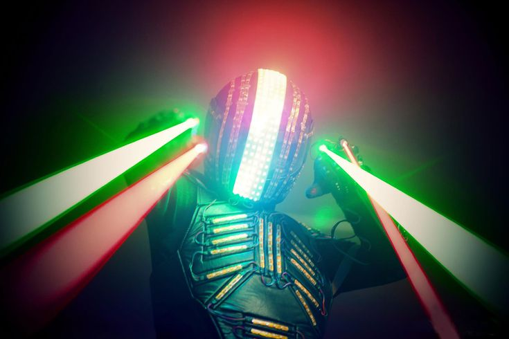 #LED #Walkabout #Robot #Germany | LED Robot Show Germany | Club Entertainment Germany  If you're looking for a wow-factor light show with a difference this 2.5metre tall LED robot will provide just that!