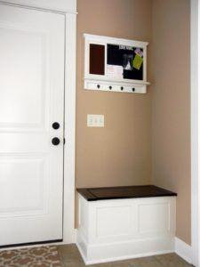Small Hallway Shoe Storage Bench