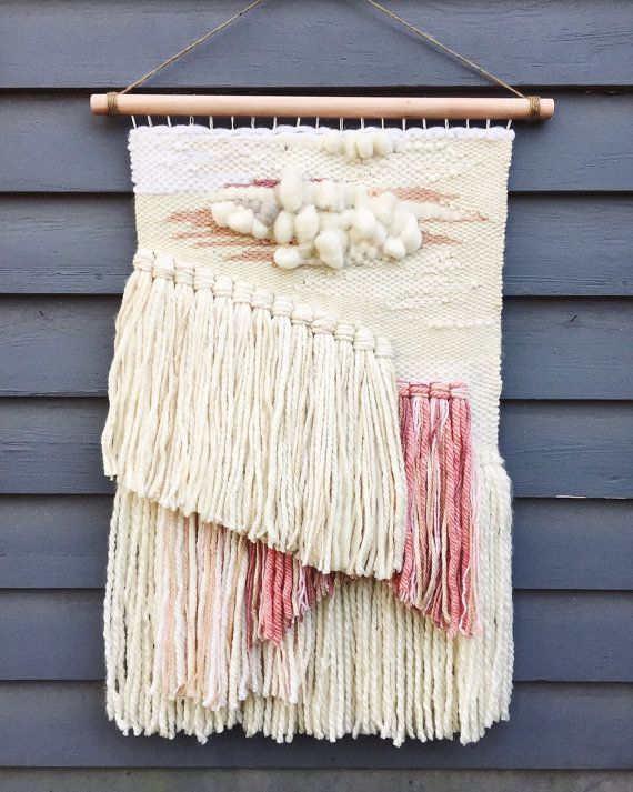Large Handwoven Tapestry by KatKingTapestries on Etsy