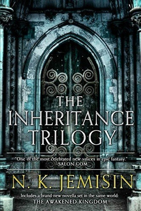 ✔️NK Jemisin : The Inheritance Trilogy (1-The Hundred Thousand Kingdoms, 2-The Broken Kingdoms, & 3-The Kingdom of Gods. Plus novella-The Awakened Kingdom)... & 50 other fantasy series to read ;)