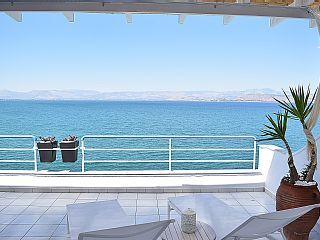 Waterfront Loft Apartment with Amazing Sea View in Kiveri village, near Nafplio! Holiday Rental in Argolis from @HomeAwayUK #holiday #rental #travel #homeaway