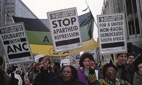 Anti Apartheid Movement