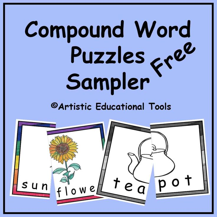 1000 images about compound words on pinterest pocket