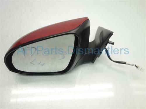 Used 2014 Toyota Camry Driver SIDE REAR VIEW MIRROR RED  87909-06401 8790906401. Purchase from https://ahparts.com/buy-used/2014-Toyota-Camry-Driver-SIDE-REAR-VIEW-MIRROR-RED-87909-06401-8790906401/199756-1?utm_source=pinterest