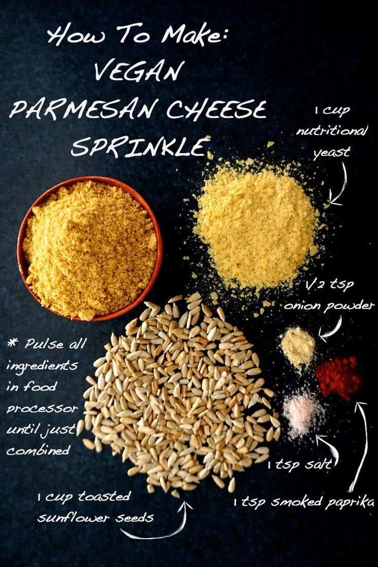 How To Make Vegan Parmesan Cheese