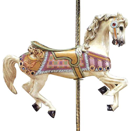 I totally want  to be rich so i could have the coolest decor in my baby girls room!    Carousel Horse @PoshTots #PoshTotsPresidents