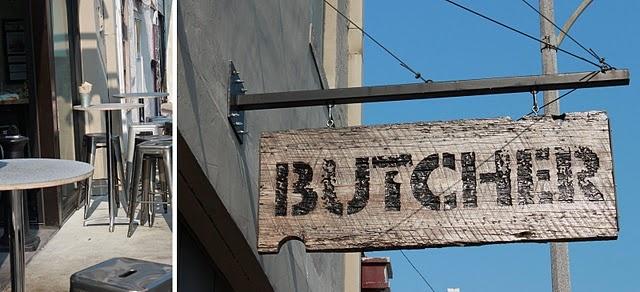 Butcher sign