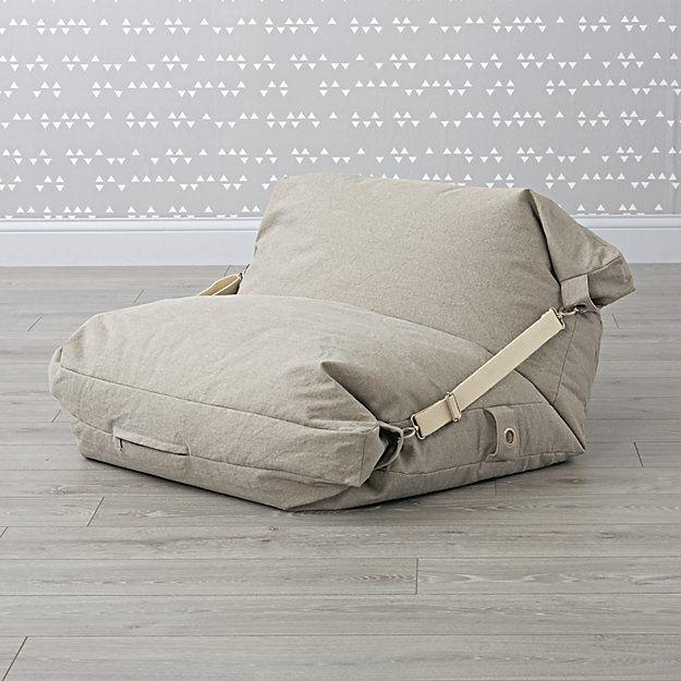 Beanbag_Chair_Adjustable_Grey