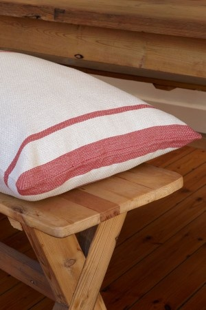 Cotton and Linen Mungo Huck Cushions