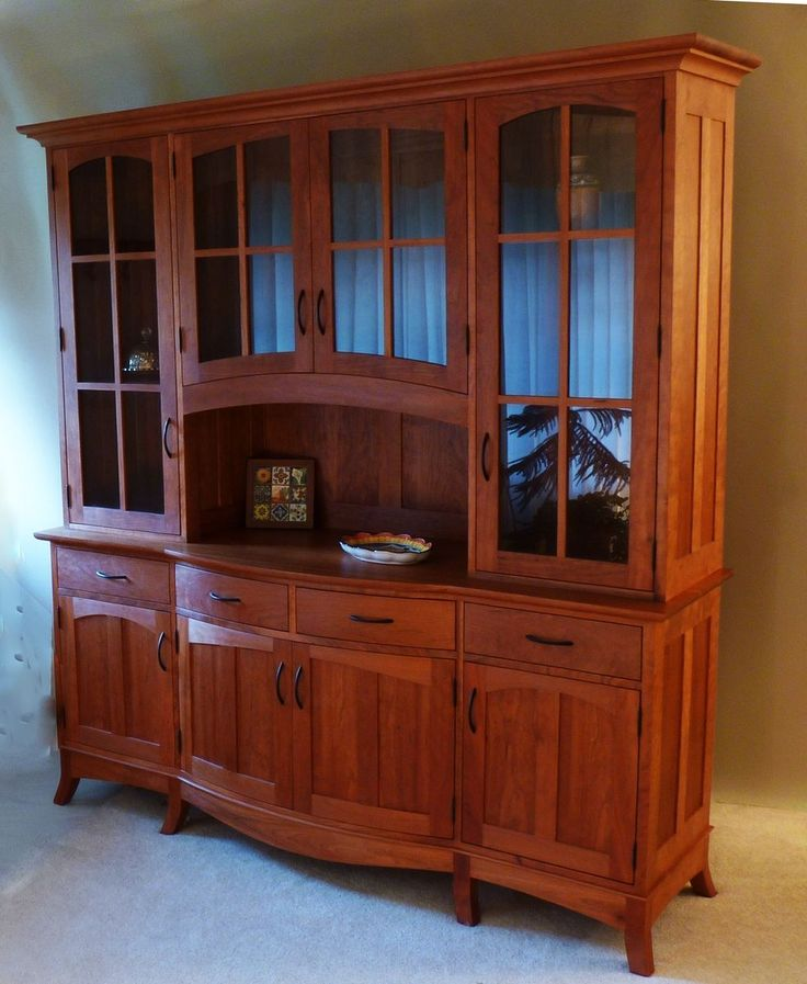 Custom Made China Cabinets Woodworking Projects Amp Plans