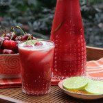Limonada de cereja