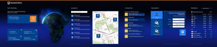 Standard Bank  -  Metro mobile banking application