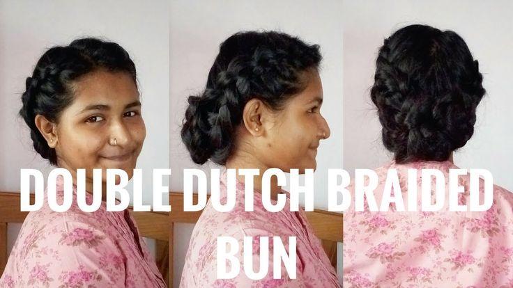 Double Dutch Braided Bun