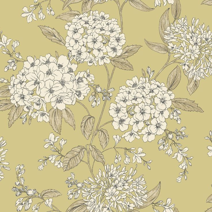 Saffrone Green Floral Wallpaper Departments DIY at B&Q