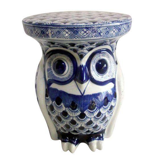 Owl ceramic stand Pinned by www.myowlbarn.com