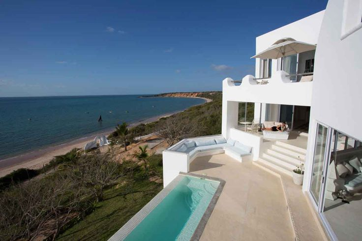 Spectacular view from the Villa Santorini in Mozambique