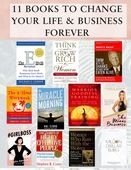 11 books to change to your life and business forever.