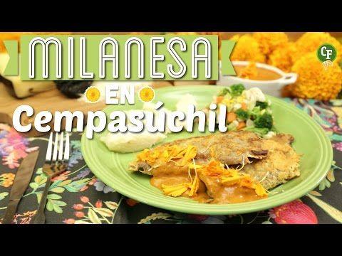 ¿Cómo preparar Milanesas de Res en Salsa de Cempasúchil? - Cocina Fresca - YouTube