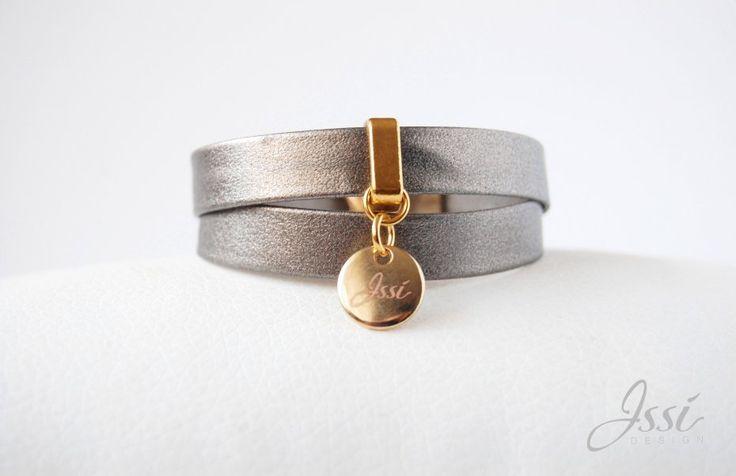 STARDUST BELT (proj. Issi design), leather bracelet