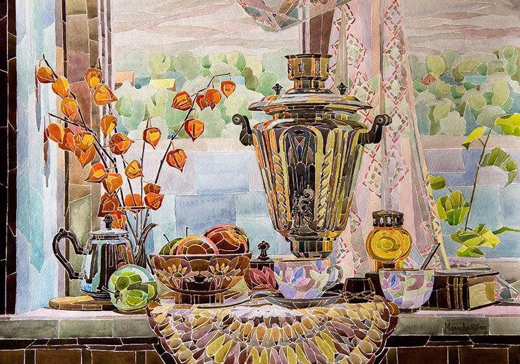 Маслова Юлия. Время пить чай