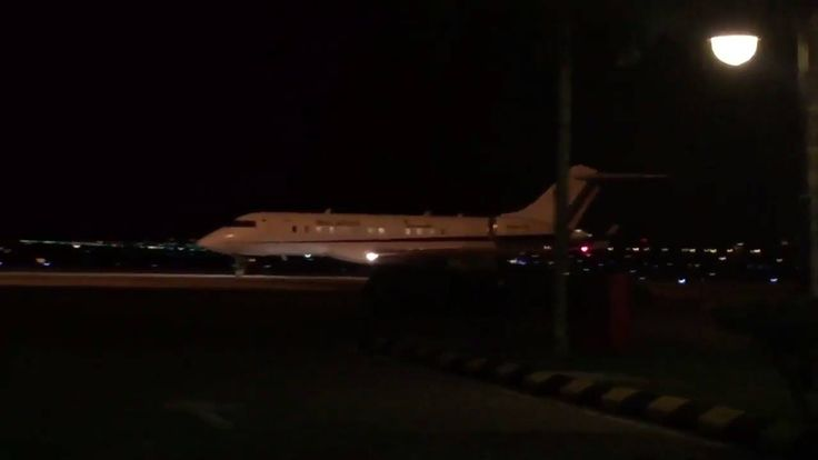 TOUCHDOWN: The jet carrying 9 Malaysians freed by Pyongyang lands in Kuala Lumpur.