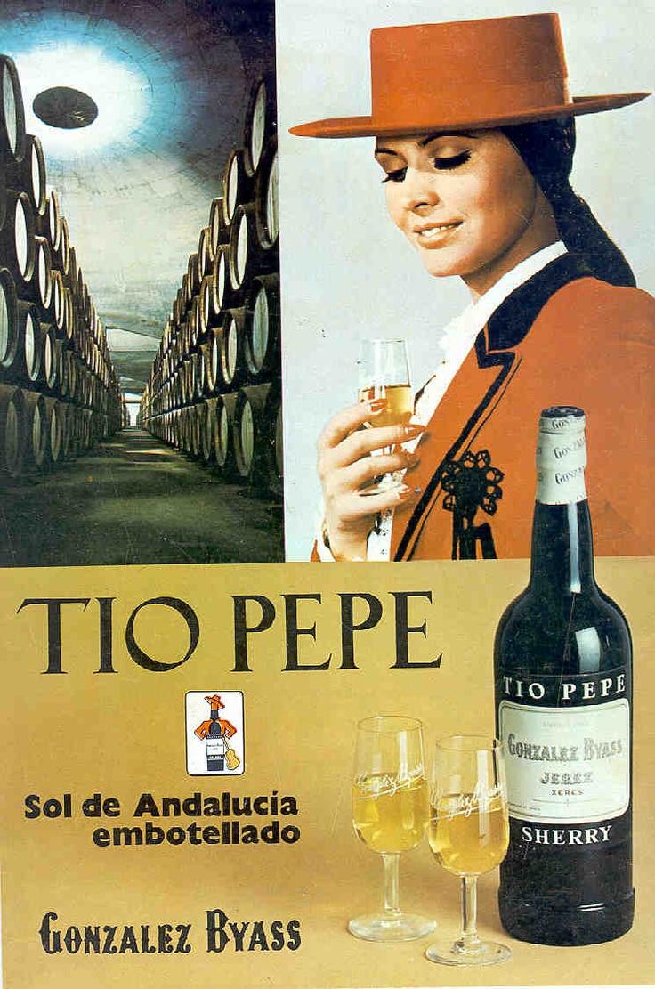 1972: Las Copas y mujer. / 1972: Las Copas (bodega) and woman.