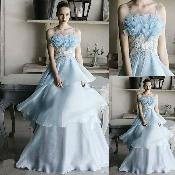 17 Best images about Blue wedding dresses on Pinterest | Blue ...