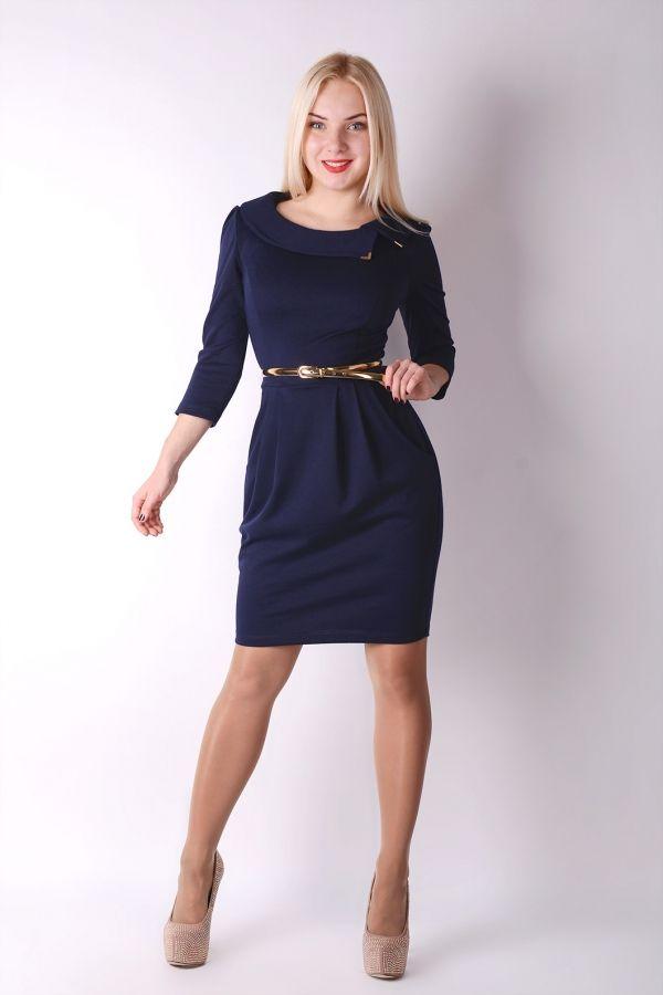Платье с юбкой-тюльпан (35 фото)