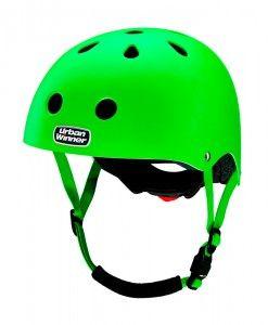 UrbanWinner-cykelhjelme-neon-green
