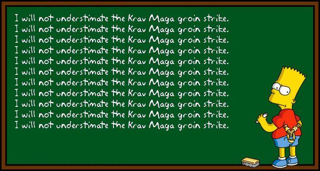 Signature Krav Maga Move….