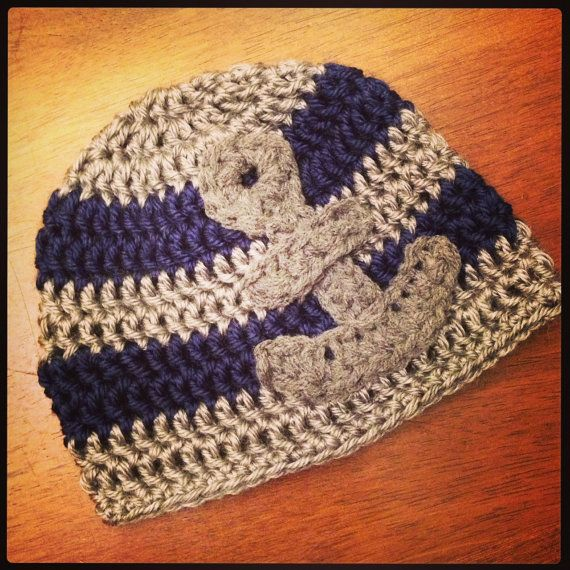 Crochet PATTERN Little Sailor Hat with by ...