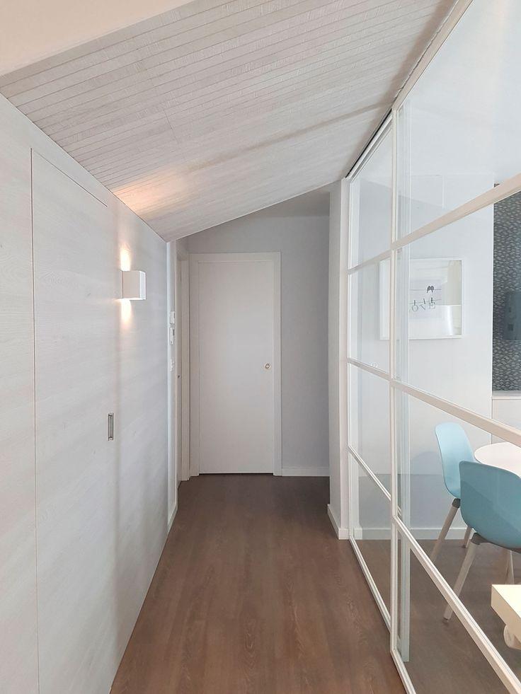 M s de 25 ideas incre bles sobre techo inclinado en - Montar puertas correderas ...