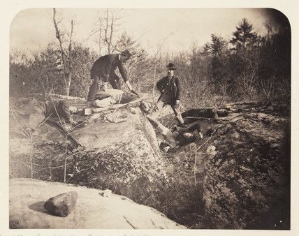 culp's hill | Gettysburg - 3rd Day, Culp's Hill...', Pennysylvania, 3 July 1863.