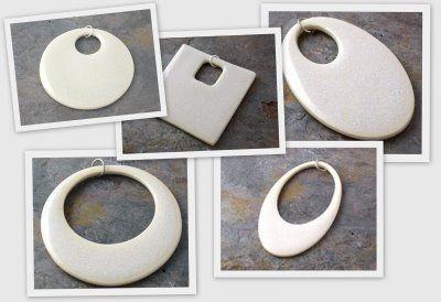 Creative Influences: Ceramic Pendants