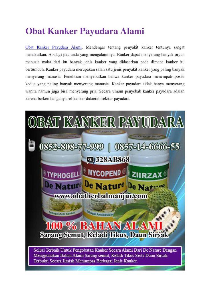 Obat kanker payudara alami http://www.4shared.com/office/McQPpSl5ba/Cara_Mengobati_Kanker_Payudara.html