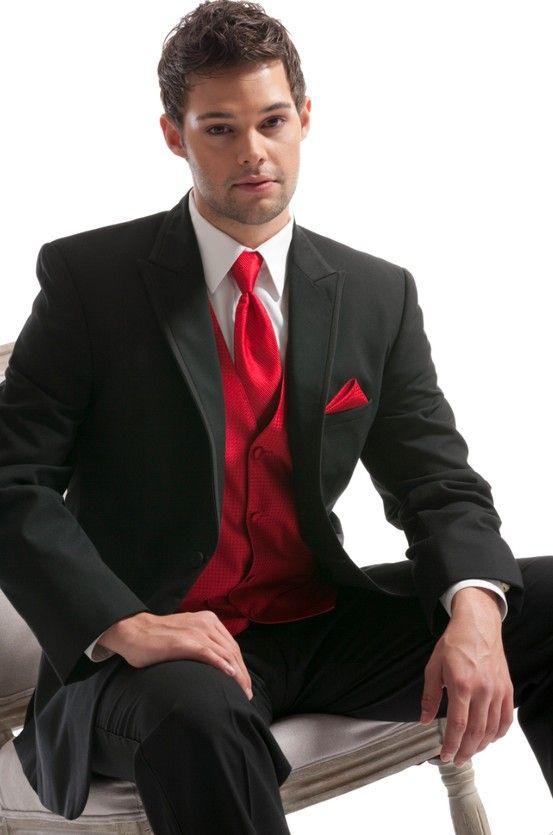 Ralph Lauren Red Tuxedo