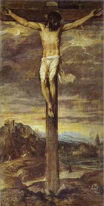 Lonely Crucifixion Scene, One of Great Tranquility