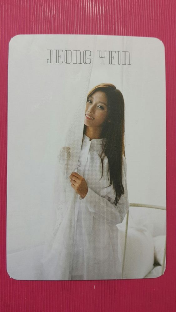 LOVELYZ JEONG YEIN Official Photocard LOVELYZ8 1st Album Ah Choo YE IN