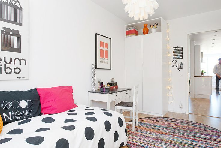 How to Design a Luxury Home With a Clean White Color For Bedroom Dots