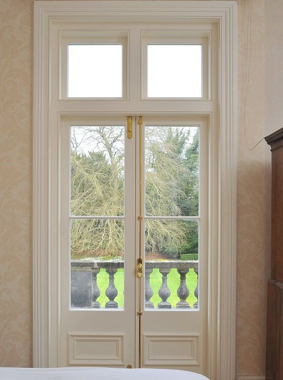 Timber French Door Manufactured and Installed by The Sash Window Workshop
