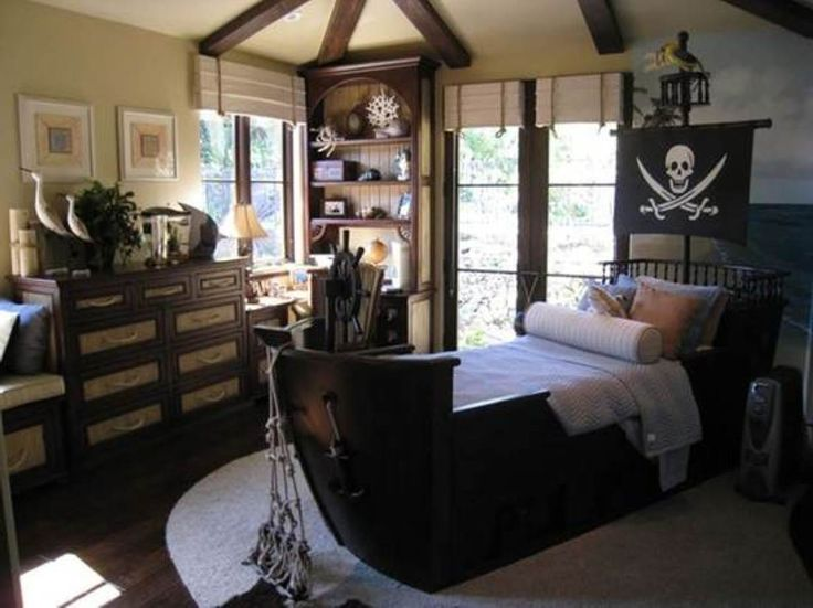 Little boy bedrooms home design ideas for Boys pirate bedroom ideas
